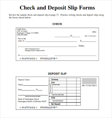 deposit slip examples slip template 13 free word excel pdf documents download