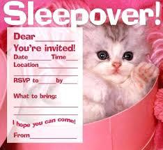Free Slumber Party Invitations Printable Pajama Birthday Lugat