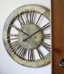 handmade extra large modern clock