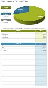 Financials Template Free Financial Planning Templates Smartsheet