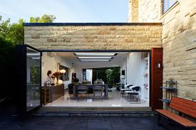 contemporary garden room on one of our projects in leeds