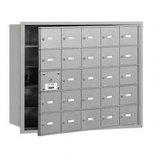 Horizontal Mailbox 25 Boxes