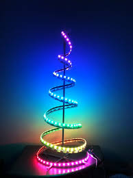 outdoor christmas tree lights led. decorated palm christmas trees home decor bssoi outdoor spiral led lights decorator collection fetco tree