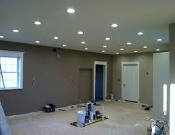 how many recessed lights in a room for kitchens