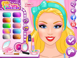 play barbie makeup artist