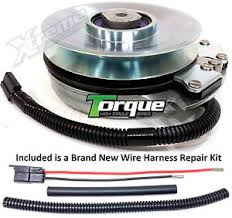 replaces warner 5218 102 husqvarna pto clutch w wire harness image is loading replaces warner 5218 102 husqvarna pto clutch w