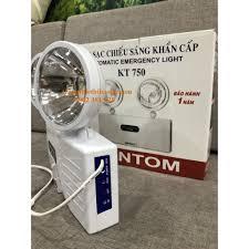 GIẢM GIÁ - Đèn chiếu sáng khẩn cấp KENTOM KT-750 - hình thật - Đèn pin