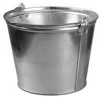 «<b>Ведро</b> 15 л, <b>оцинкованная сталь</b>, хозяйственное, серый /г ...