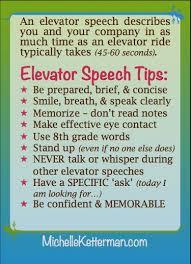 What Is A Elevator Speech What Is Elevator Speech Under Fontanacountryinn Com