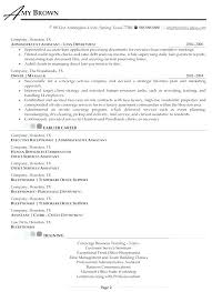 Resume Concierge Job Pelosleclaire Com
