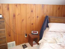 image of simple wood paneling for walls