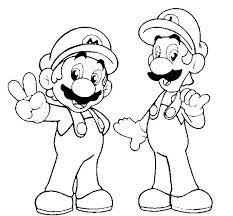 Più Recente Mario E Luigi Da Colorare Disegni Da Colorare Per Bambini