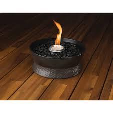 tiki brand clean burn large tabletop fire pit  walmartcom