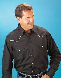 Ely Cattleman Black Western Shirt 15202980 89