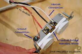 video how to wire a half switched outlet one project closer outlet wiring pigtail alternate wiring method