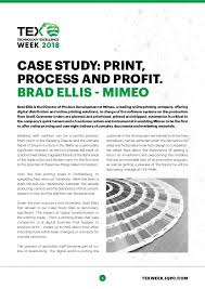Case Study Print Process And Profit Process Excellence Network