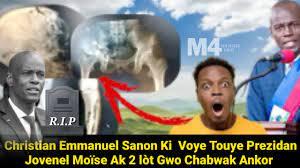 Christian Emmanuel Sanon Ki voye Touye ...