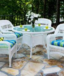 white outdoor furniture. tortuga white outdoor 5pc wicker dining set beachfront decor furnituredining sets furniture
