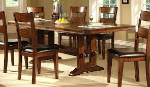dining table with 6 chairs gumtree large size of round dark wood pedestal dining table and