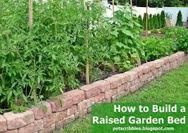 raised garden bed ideas uk