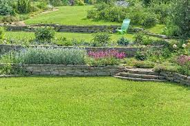 how to level a sloping garden in 10