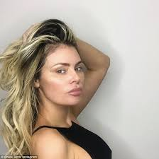 cheekbones alert chloe sims looked worlds away from her usual appearance as she posted a