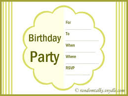 Online Printable Birthday Party Invitations Birthday Party Invitation Cards Free Colorful Free Printable