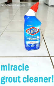 cleaning bathroom ceramic tile grout how