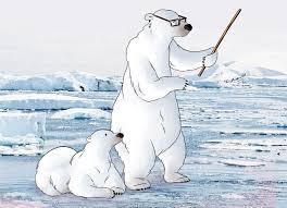 Illustration Animale L Ours Polaire Dessin Anim Rigolo