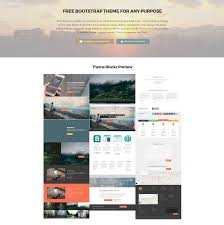 Responsive Web Design Bootstrap Examples 95 Free Bootstrap Themes Expected To Get In The Top In 2019