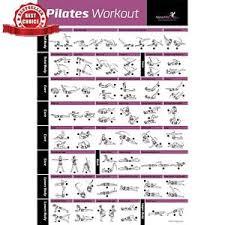 Pilates Wall Chart Pilates Mat Workout Amtworkout Co