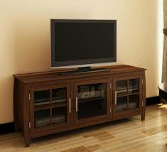 Living Room Cabinets With Glass Doors 60 Inch Two Mullion Glass Doors Modern Tv Cabinets Av Cabinets