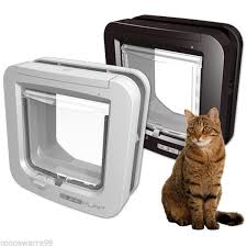 pictures of microchip cat flaps for double glazed doors