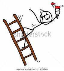 Stickman Magazine Holder Stickman Falling Ladder Stock Vector 100 Shutterstock 91