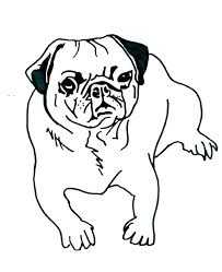 pug coloring pages to print pictures for teens printable dog peppa pig free colouring pug coloring pages