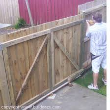 double fence gate. Double Fence Gates Gate S