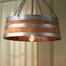 excellent wine barrel lighting 7 ring