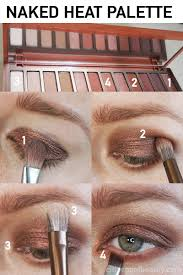 step by step heat makeup tutorial urban decay