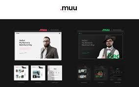 muu unique and creative resume portfolio template boostlizer comments please login to post comments