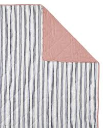 Gorgeous Railroad Stripe Quilt Sham Shams Serena And Lily Ticking Bedding  Pottery Barn Q