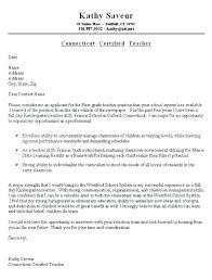 Sample Cover Letter Application Teaching Cover Letters Samples ...