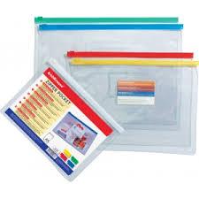 2936 <b>Пакет</b> пластиковый на гибкой молнии <b>ErichKrause</b>® <b>PVC Zip</b> ...