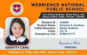 Identification Card Samples Vertical Id Badge 1 Word Identification Card Template Id