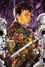 Kanan #12 (of 12) Writer: Greg Weisman Artist: Andrea Broccardo Cover  Artist: Mark Brooks   Star wars comics, Star wars fandom, Star wars rebels