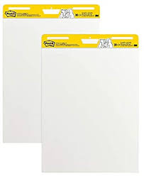 Pad Rank Up Chart Post It Super Sticky Easel Pad 25 X 30 Inches 30 Sheets Pad 2 Pads Large White Premium Self Stick Flip Chart Paper Super Sticking Power 559