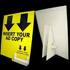 Cardboard Card Display Stand Custom Amazon 332 33232 X 332332 Cardboard Sign Holder Includes Display