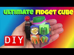 ultimate diy fidget toys diy fidget cube fidget toys for diy emoji crafts for kids