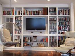 Living Room With Bookcase White Bookcase For Living Room Sneiracom