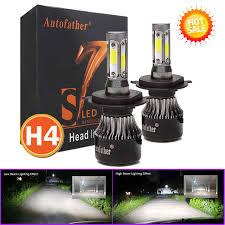Details About H4 Led Headlight Kit Driving Lamp Hi Lo Beam Bulbs 480w 50000lm 6000k 8th Gen Au