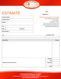 Cost Estimate Form Interior Design Estimate Form Trend Home And Decor Repair Cost
